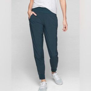 ATHLETA Soho Joggers Abyss Blue Teal